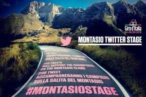 Twitter para animar a los ciclistas en el Giro