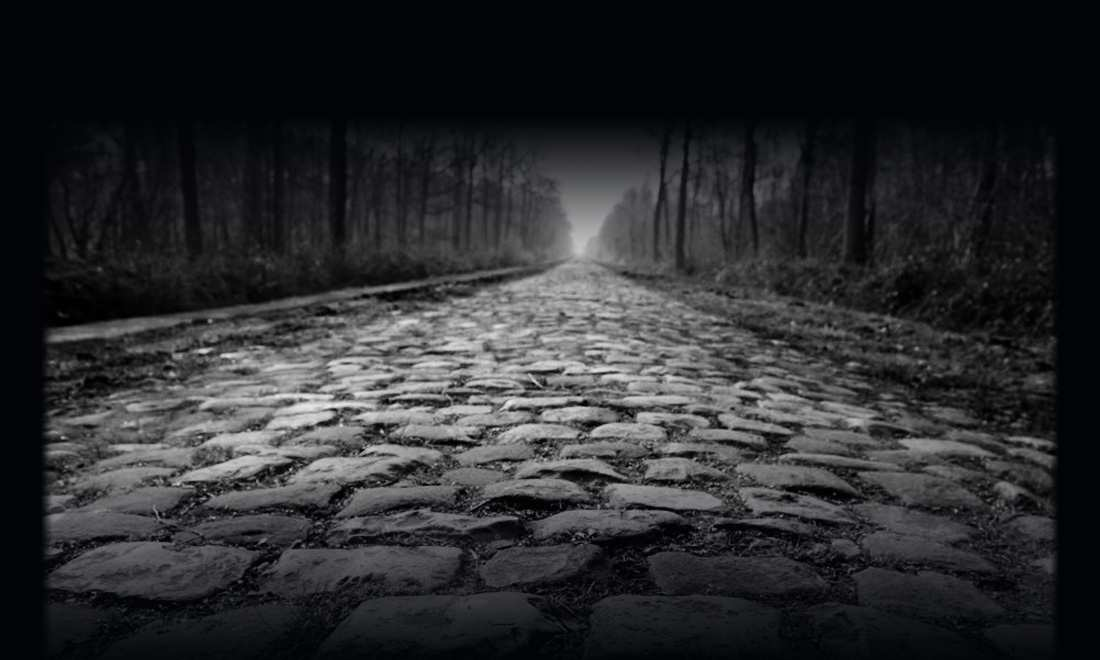 Bonita imagen del temido pavé de la Paris-Roubaix