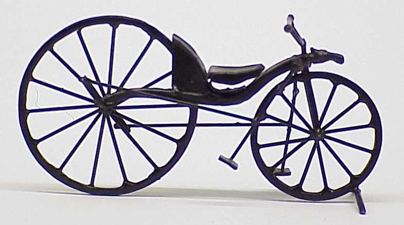 Quién inventó la bicicleta?