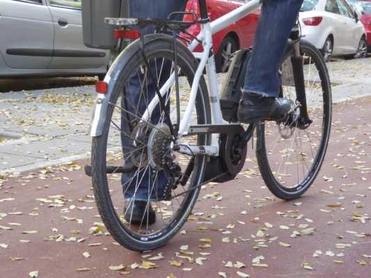 Fiesta de empresa en bicicleta