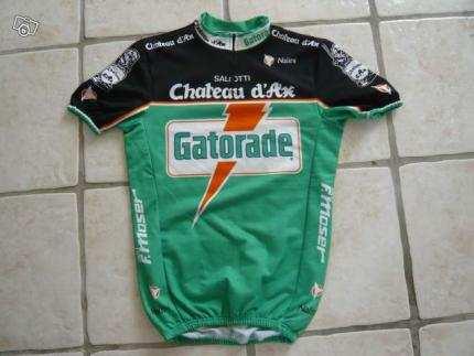 Este es el maillot del conjunto Gatorade