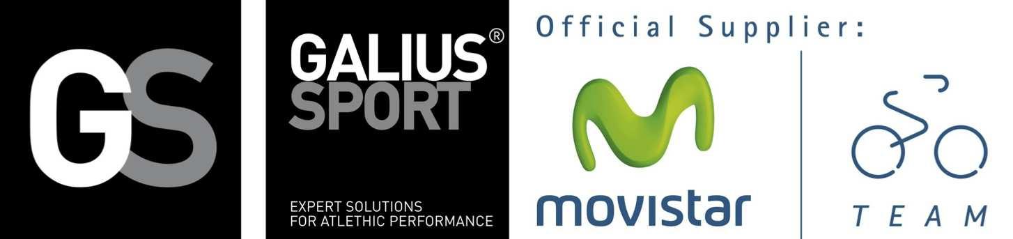 Galuis Sport es proveedor y suministra sus productos al equipo Movistar