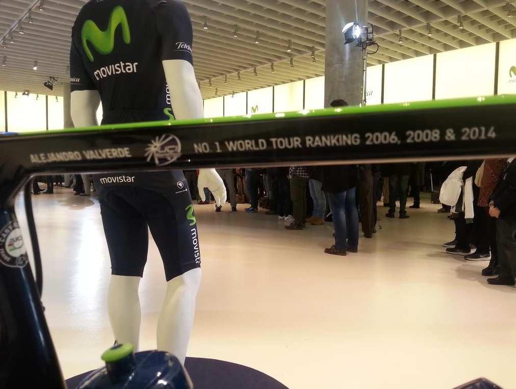 Bicicleta Alejandro Valverde 2015