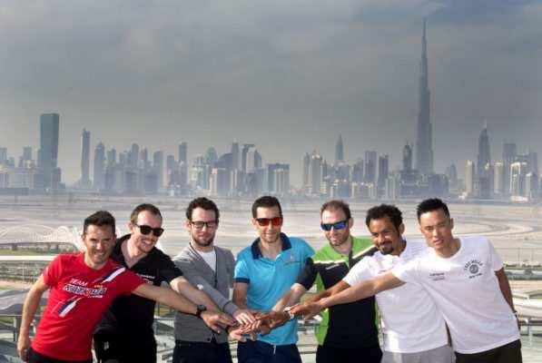 Estrellas ciclistas Tour de Dubai