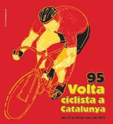 Cartel Volta Catalunya 2015