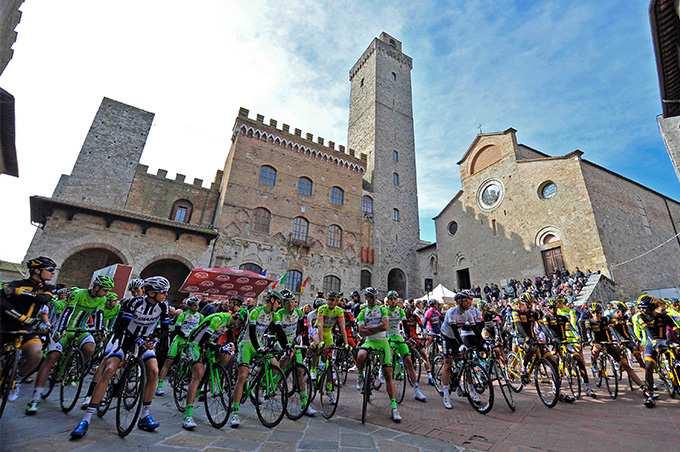 Strade Bianche San Gimignano