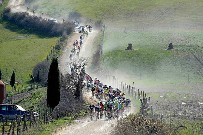 caminos tierra ciclismo