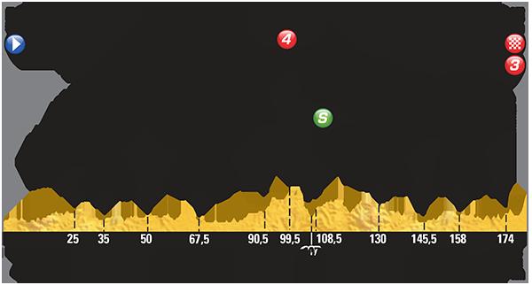 Perfil etapa 8 Tour de Francia 2015 11 de juli0