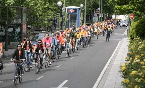 bicis en Madrid