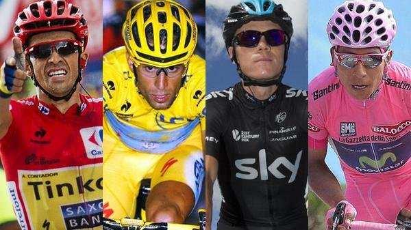 Los cuatro grandes favoritos que se verán las caras en el Tour