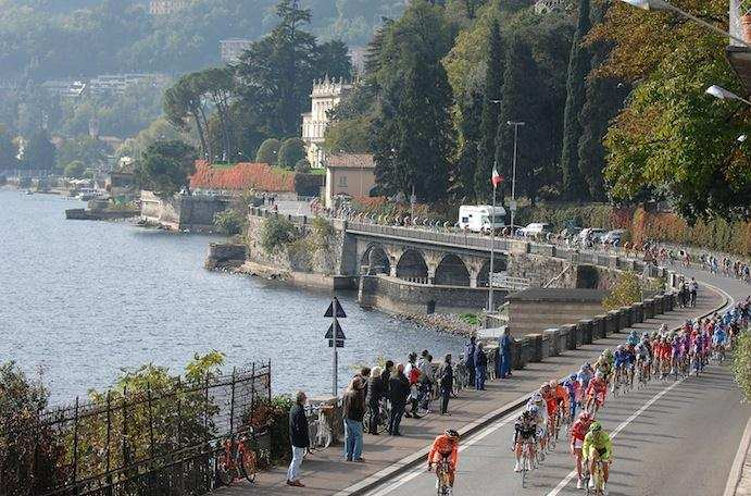 Lombardía es una de las carreras con los paisajes más bellos