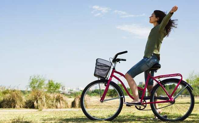 Con tu bici te puedes sentir así de bien
