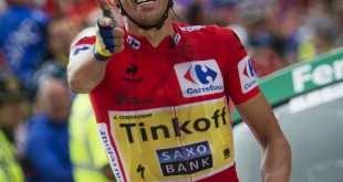 Contador con su gesto de El Pistolero