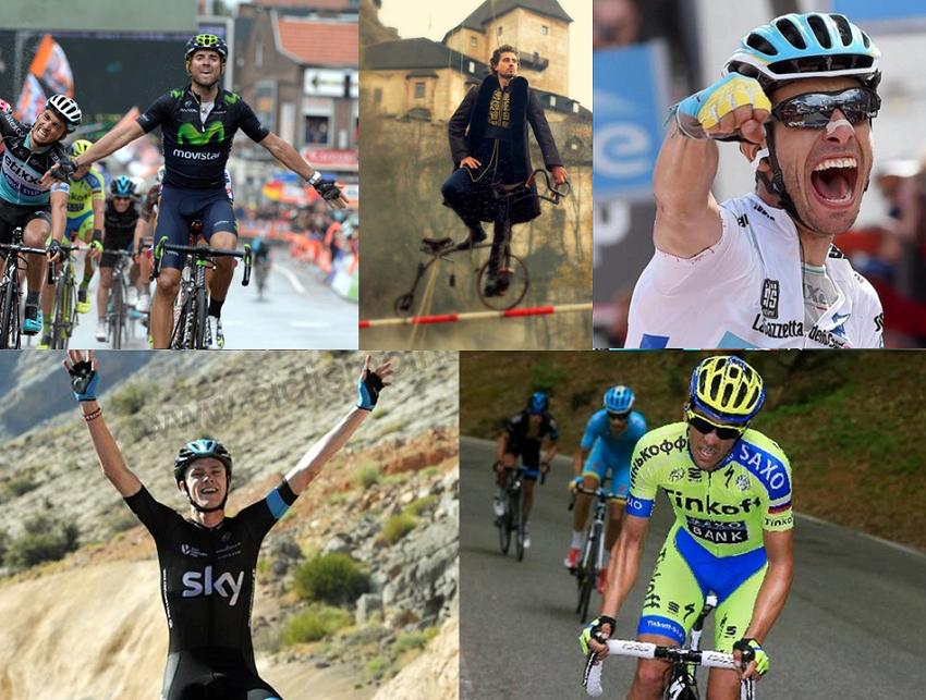 5 mejores ciclistas del año 2015