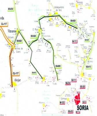 Carretera segura de Soria