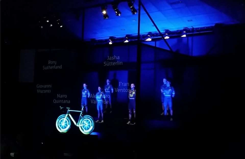 equipo ciclista Movistar