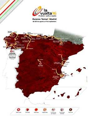 Recorrido Vuelta 2016