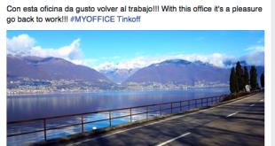Post en Facebook de Alberto Contador