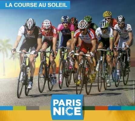Cartel de la París-Niza: La Carrera del Sol