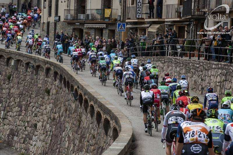 pelotón ciclista Volta 2016