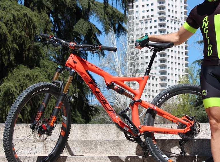 Una bicicleta muy conseguida estéticamente