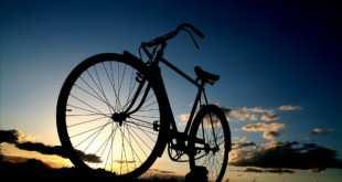 Nos ha gustado esta foto de una bicicleta para este día tan especial