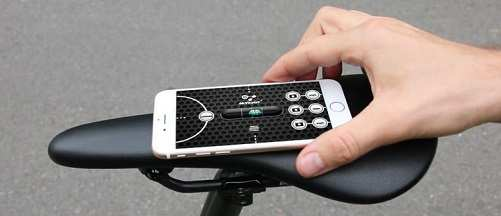 Aplicación para calibrar el sillín