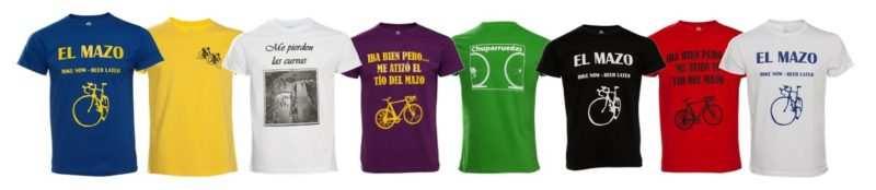 camisetas ciclistas