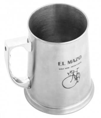 Jarra de cerveza para ciclistas El Mazo