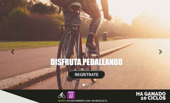 Premios por pedalear