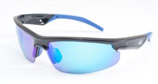Gafas de sol ciclismo El Mazo Pro negras y azules
