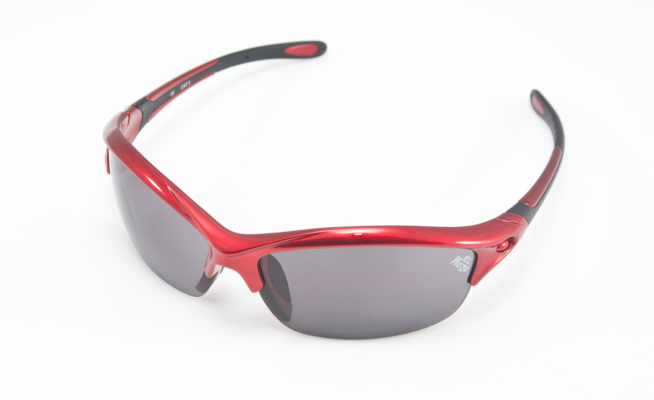 Gafas de sol ciclismo El Mazo rojas