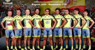 Equipo Tinkoff en La Vuelta 2016
