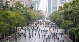 La mutilada Fiesta de la Bici de Madrid