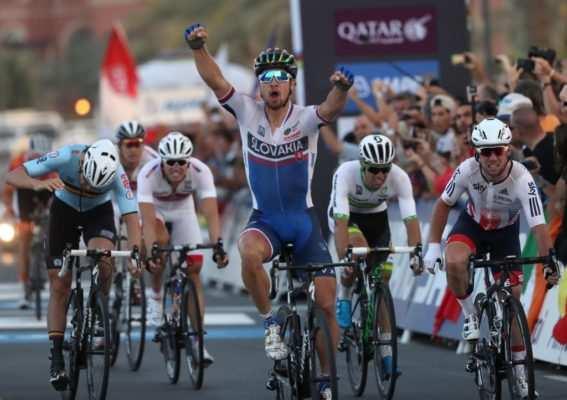 Sagan se impone en el Mundial de Qatar