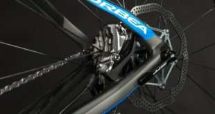 Freno de disco en bicicleta de carretera