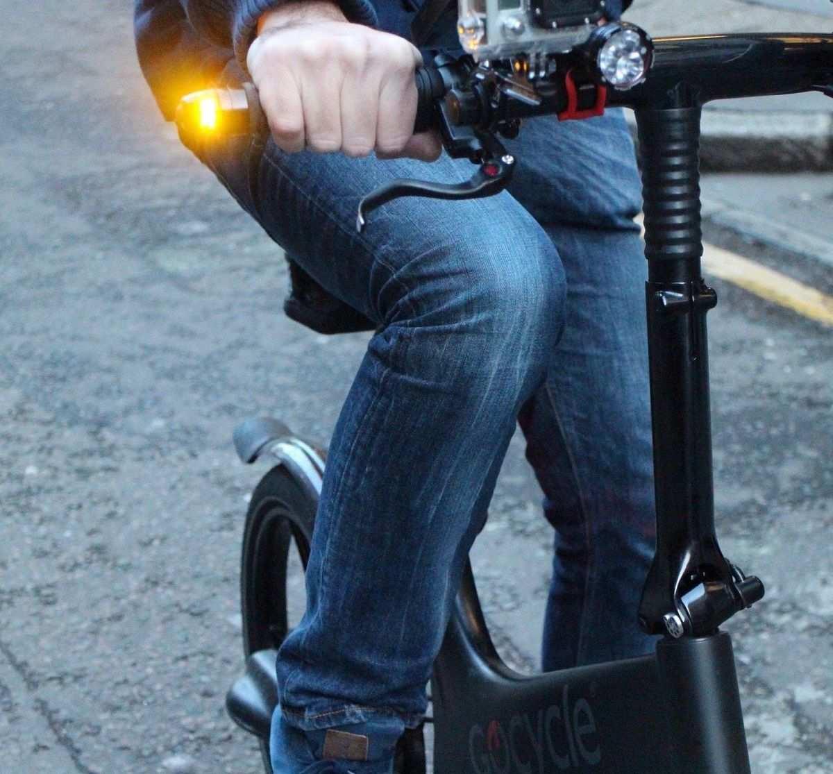 intermitentes para bici