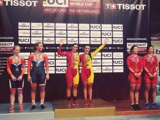 oro españa ciclismo pista