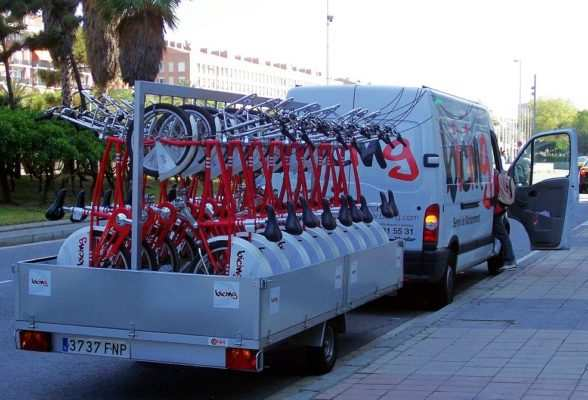 camion bicing barcelona