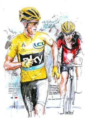 running maillot amarillo del tour