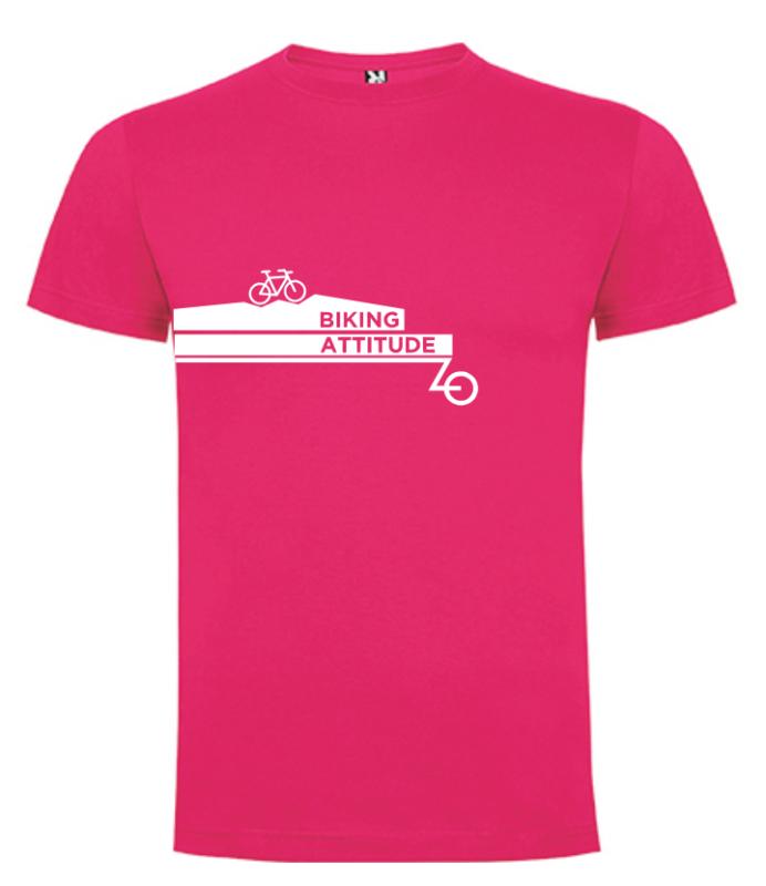 camiseta ciclismo fucsia