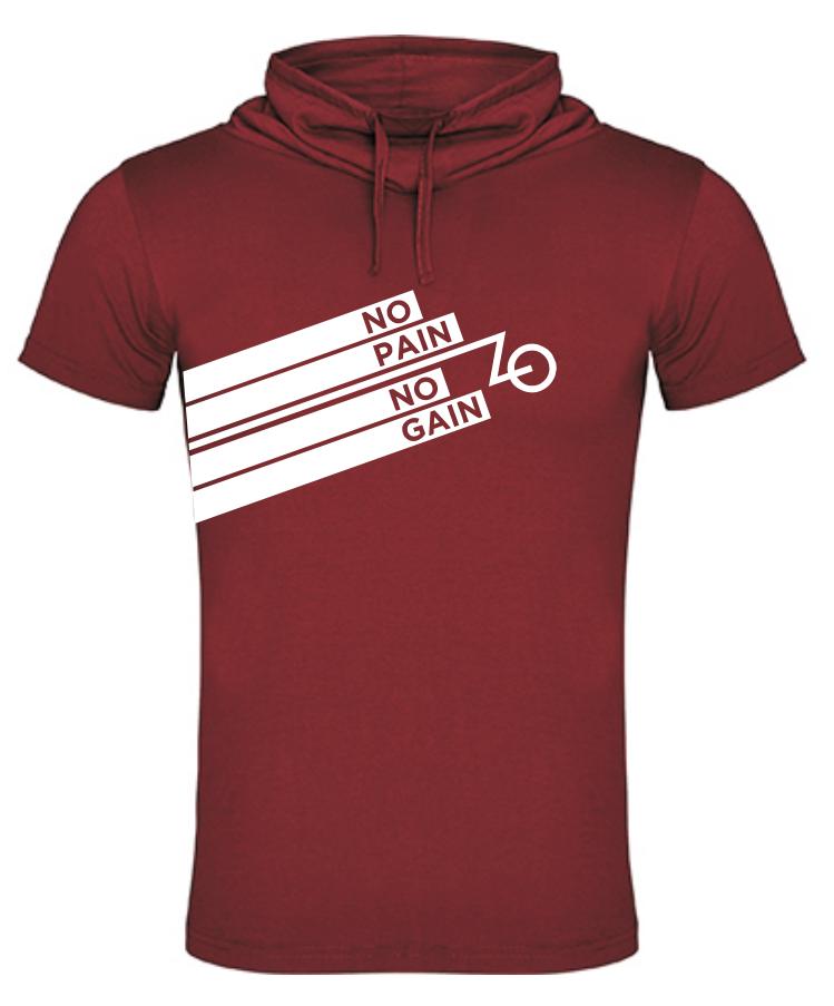 camiseta ciclista con cuello