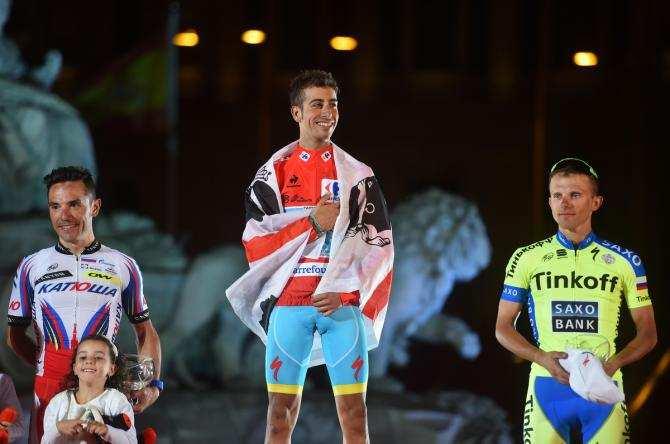 Podium Vuelta Ciclista Cibeles