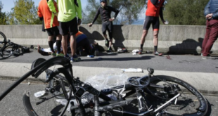 Imagen accidente en Lugo. Foto: Xoan Carlos Gil en La Voz de Galicia