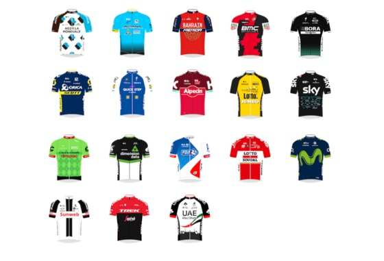 ed4b6e448a17e Cuántos corredores españoles competirán en equipos UCI World Tour en ...