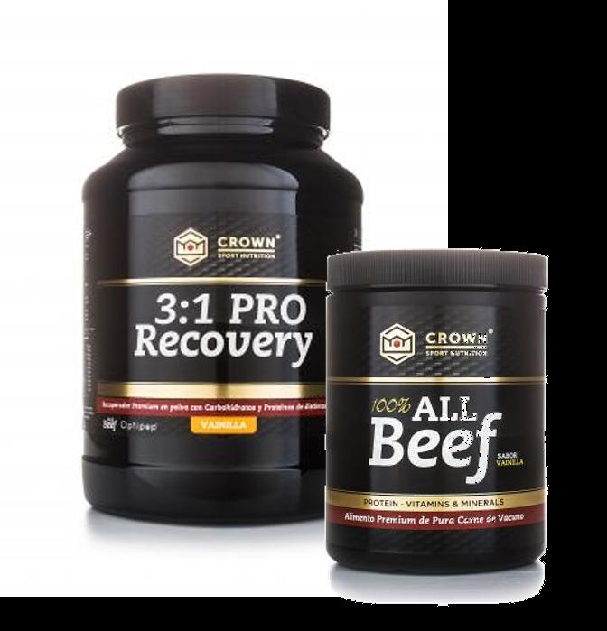 Dos de los tres productos certificados por Informed-Sport
