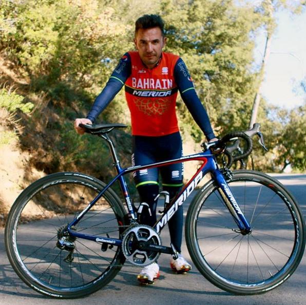 Purito no correrá en Bahrain Merida, pero será parte del equipo deportivo