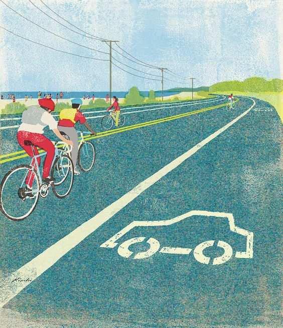 convivencia coches bicis y peatones