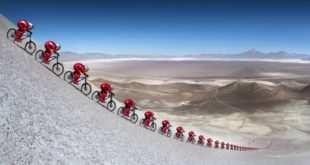 Nuevo récord del mundo de velocidad en mountain bike