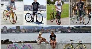 Muestra de la exposición ciclistas urbanos